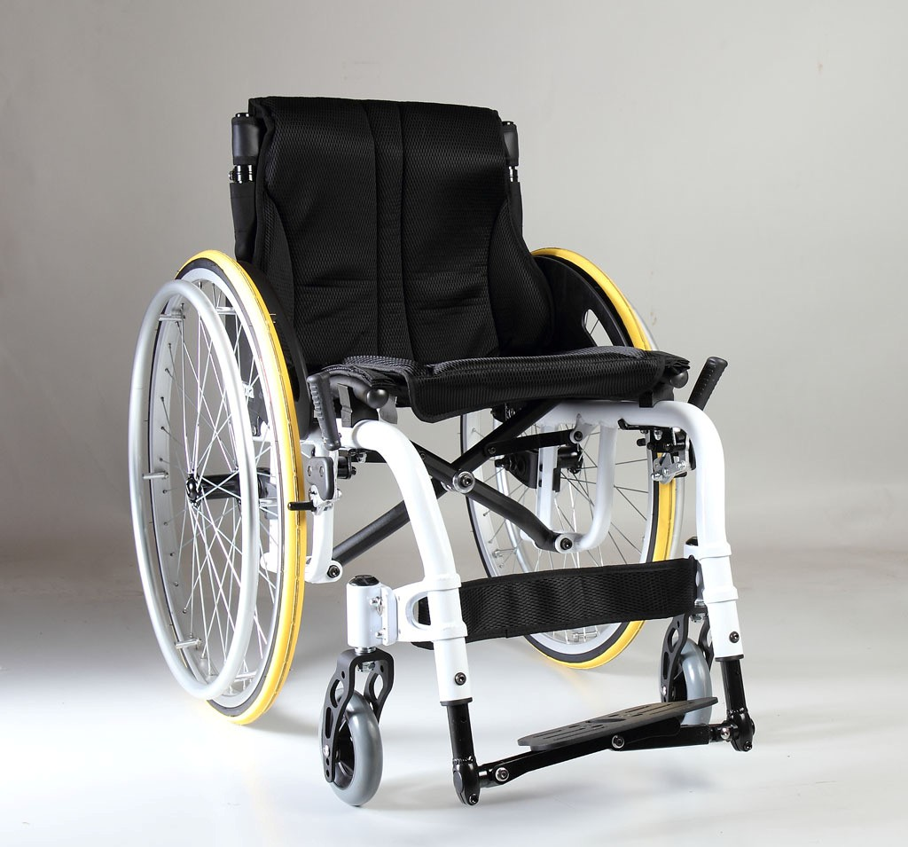 ATX white model active wheelchair