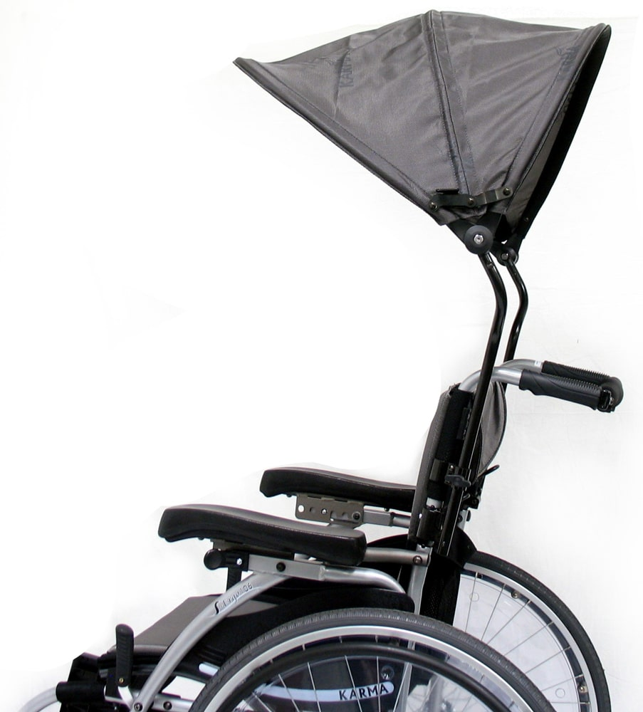 Wheelchair luxury canopy accessory Luxury wheelchairs