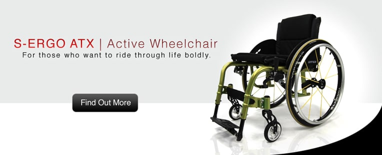S-ERGO ATX | Active Wheelchair | for those who want to ride through life boldly