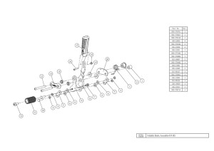 brake assembly & wheelchair manufacture quality control