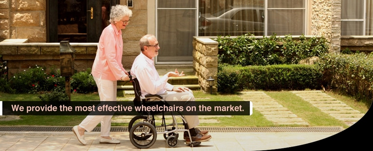 We provide the most effective wheelchairs on the market