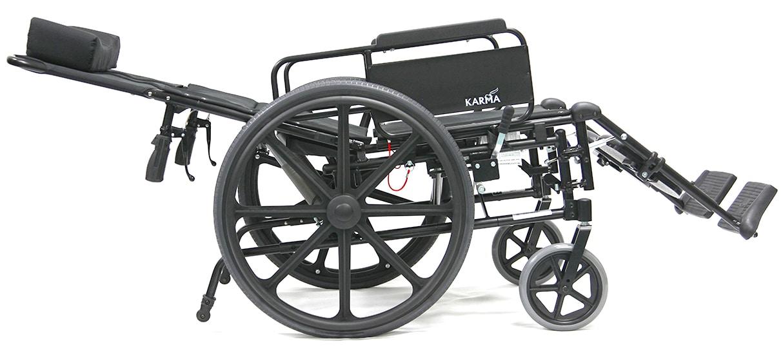 KM-5000F Reclining Wheelchair View