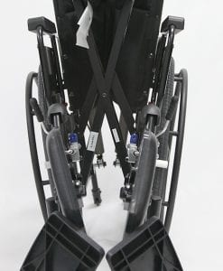 KM-5000F folded front view