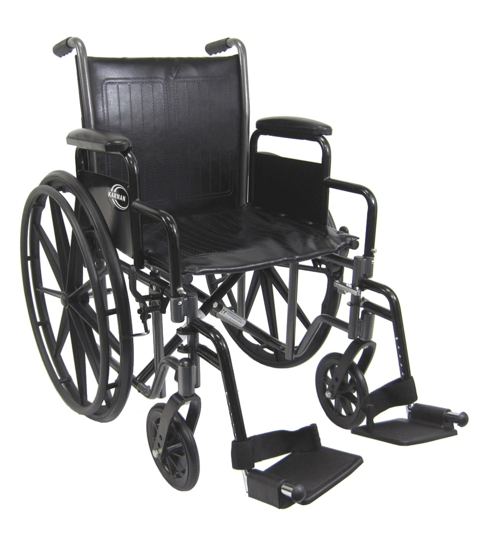 Kn 700t K0001 Deluxe Standard Wheelchair Karman Healthcare