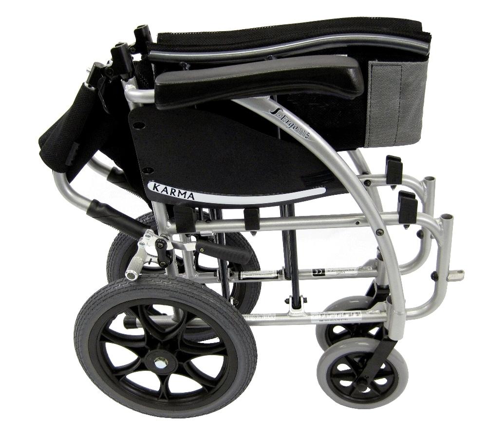 S 115 Tp Lightweight Transport Wheelchair Light