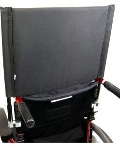 Black Wheelchair Backrest Extension
