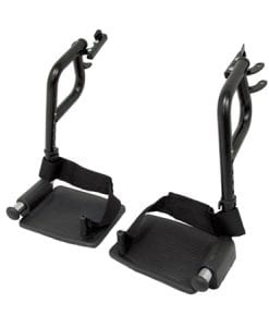 Wheelchair Footrests Front View