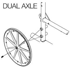 dual-axle-wheelchair