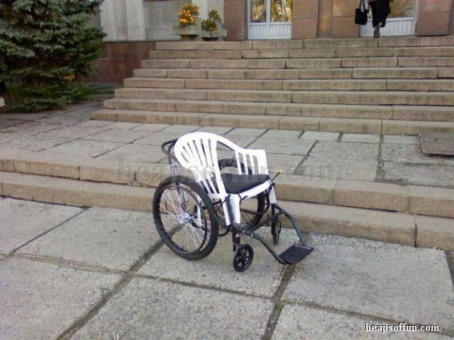 funny wheelchair photos