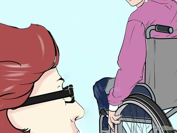 assisting-wheelchair-users