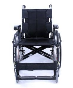 flexx adjustable wheelchair front view