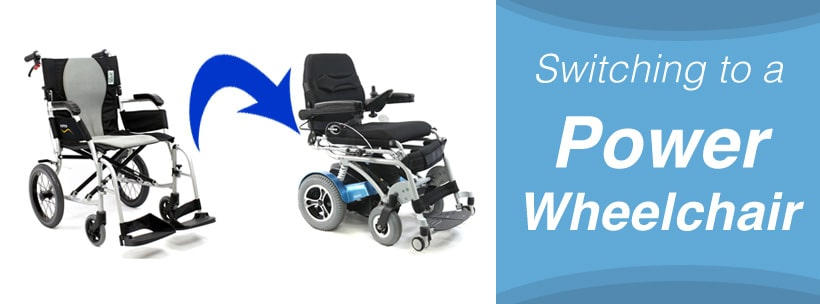 Switching to a Power Wheelchair