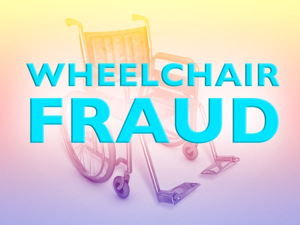 wheelchair fraud sold like new