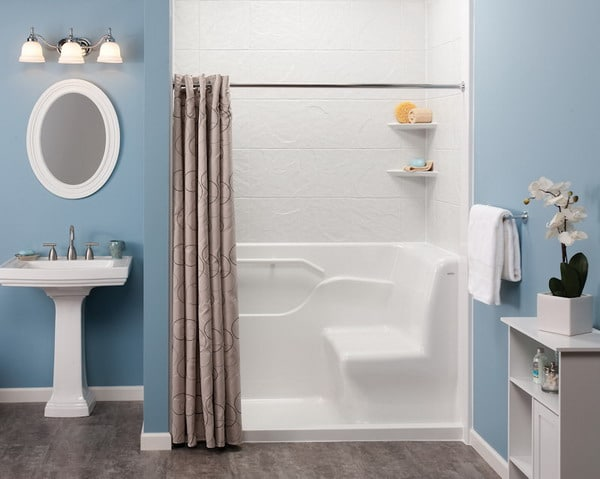 Wheelchair accessible bathroom redesign restroom for Bathroom designs for seniors