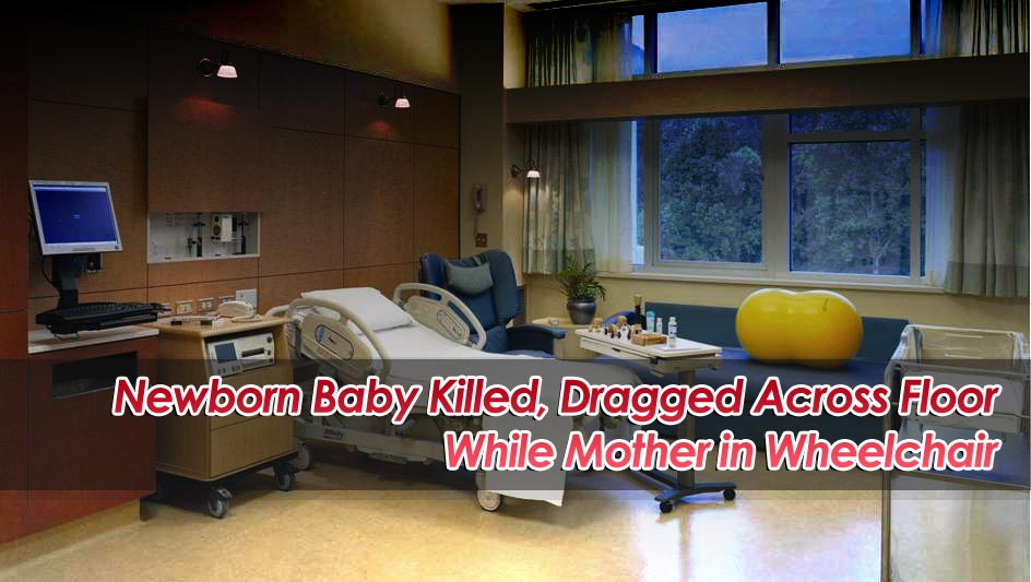 Newborn baby killed in wheelchair