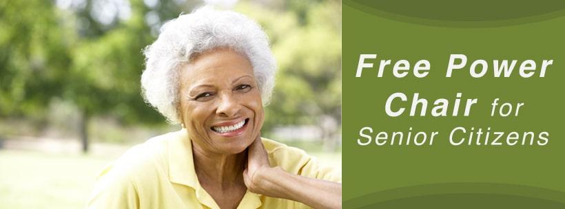 free power wheelchairs for senior citizens