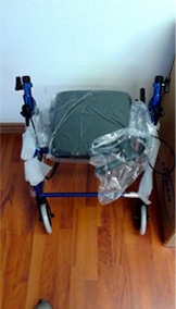 R-4100 Used Rollator on Ebay