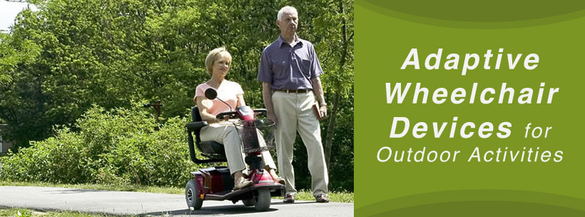 wheelchair for outdoor activities