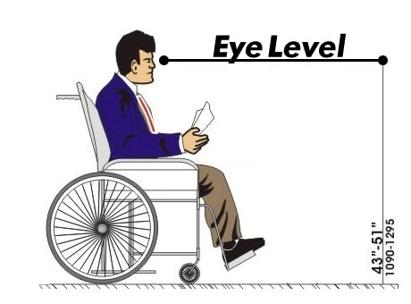 wheelchair eye level