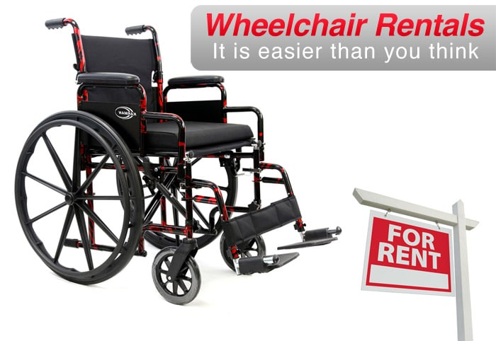 Wheelchair Rentals: Easier than your think