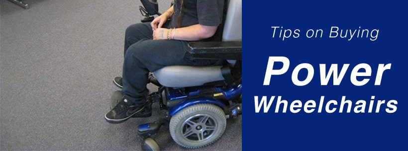 Tips on Buying Power Wheelchairss