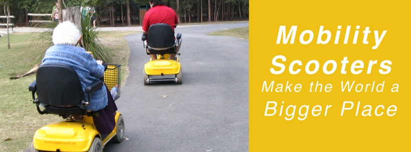 Mobility Scooters Make the World a Bigger Place