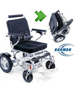 foldable power wheelchari
