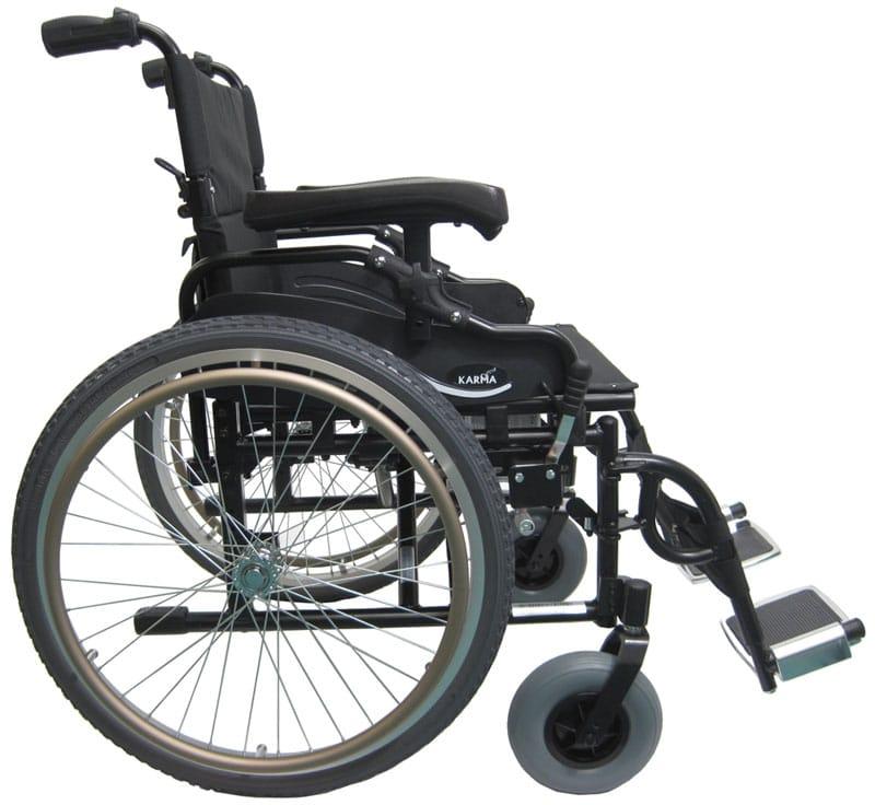 Km 8520 22 Inch Wide Seat Bariatric Wheelchair Karman