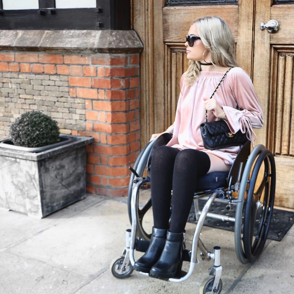 wheelchair vlogging