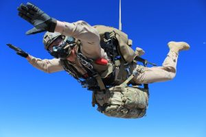 Skydiving military